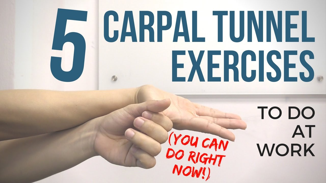 Carpal Tunnel Syndrome Stretches Pdf