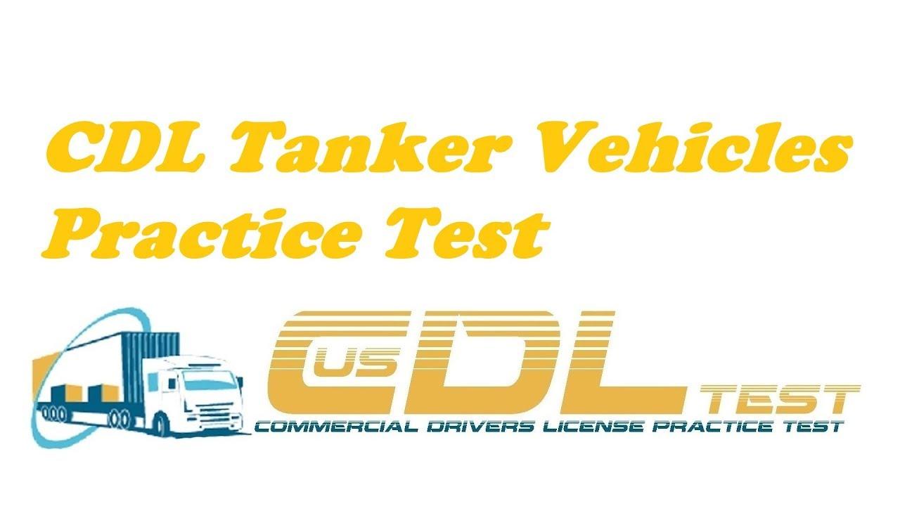 Cdl Tanker Practice Test Pdf