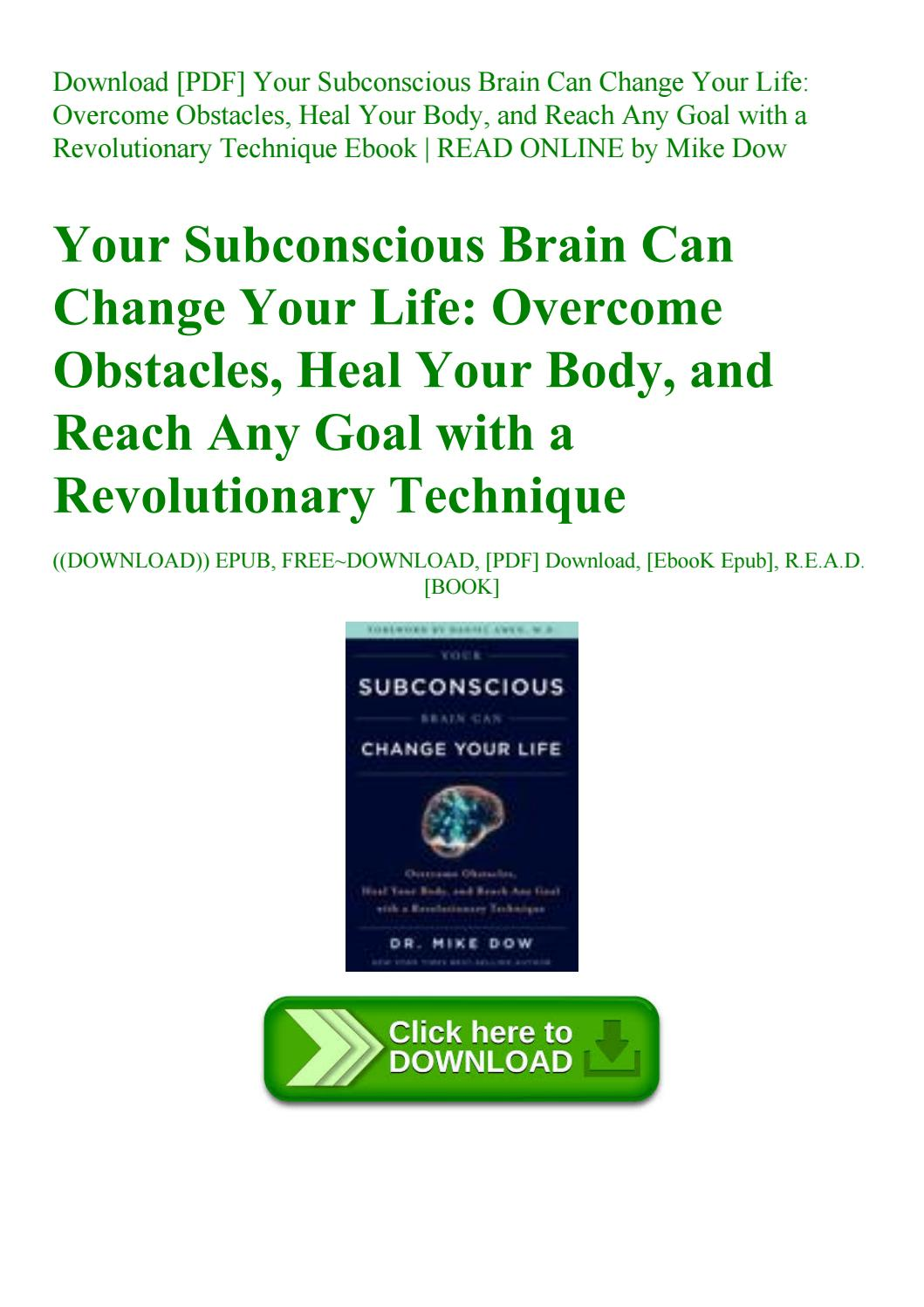 Change Your Brain Change Your Life Pdf Free Download