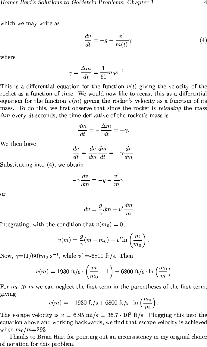 Classical Mechanics Goldstein Pdf Solutions