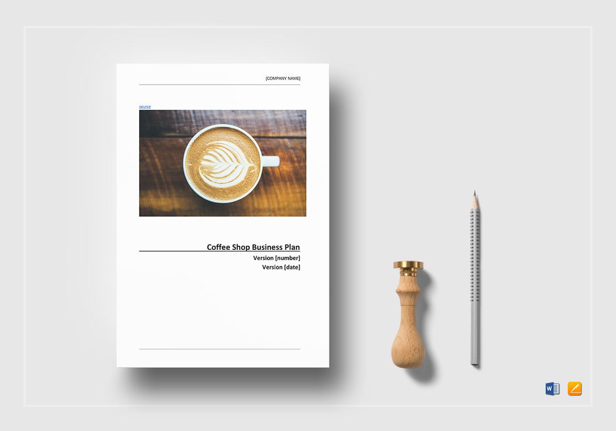 Coffee Shop Business Plan Pdf Download