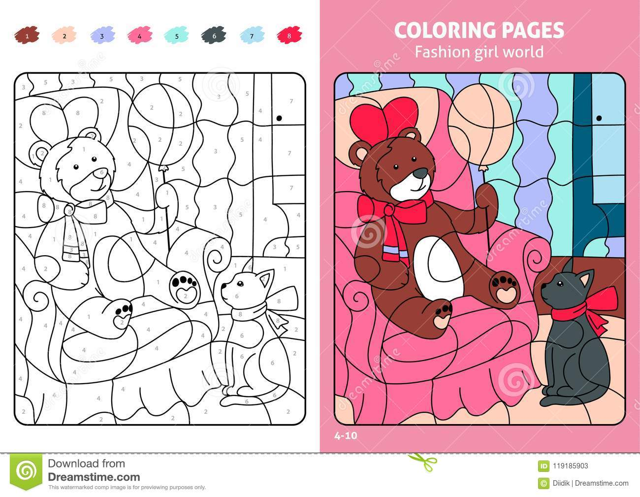Coloring Pages Book For Kids Girls Pdf