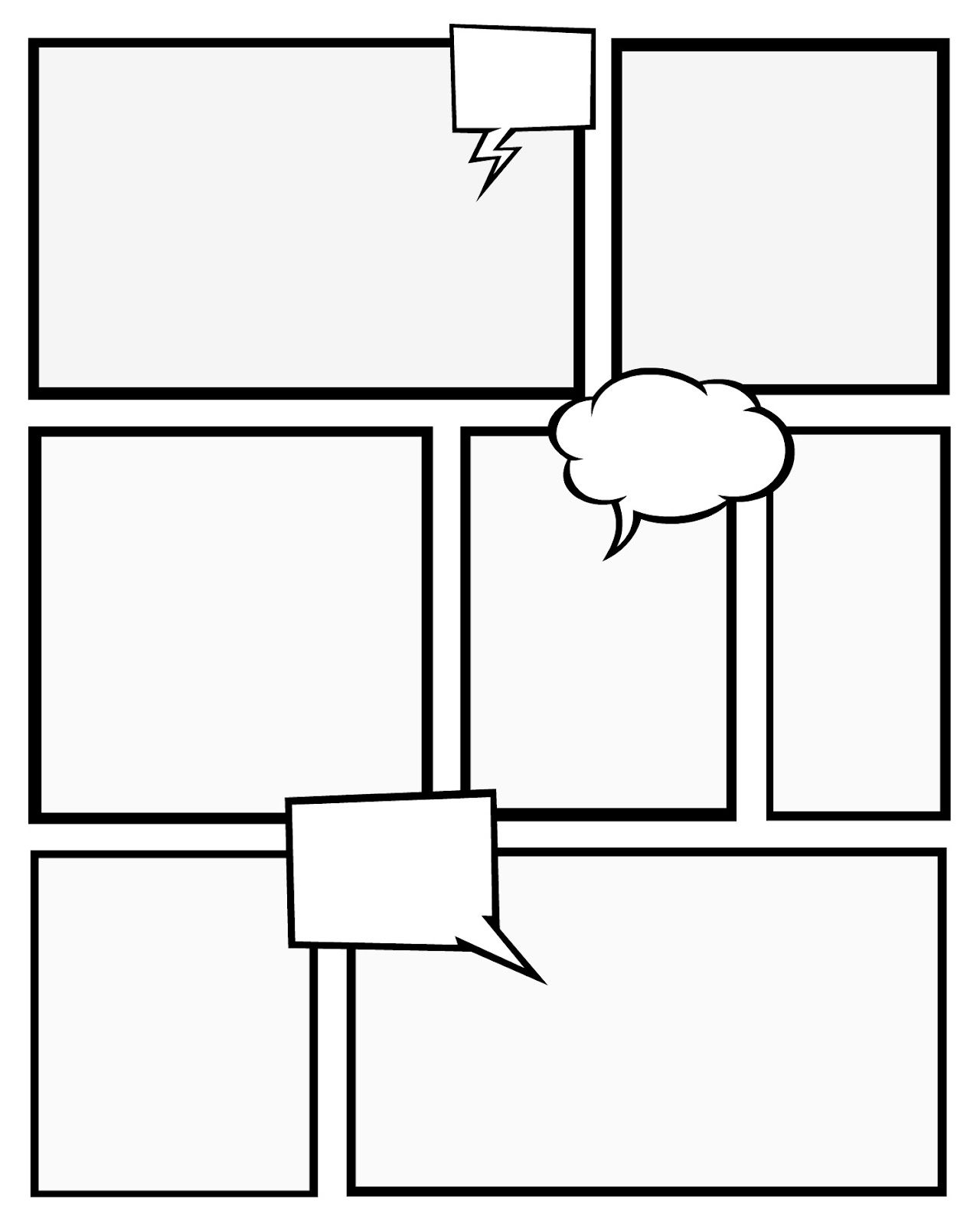 Comic Book Storyboard Template Pdf