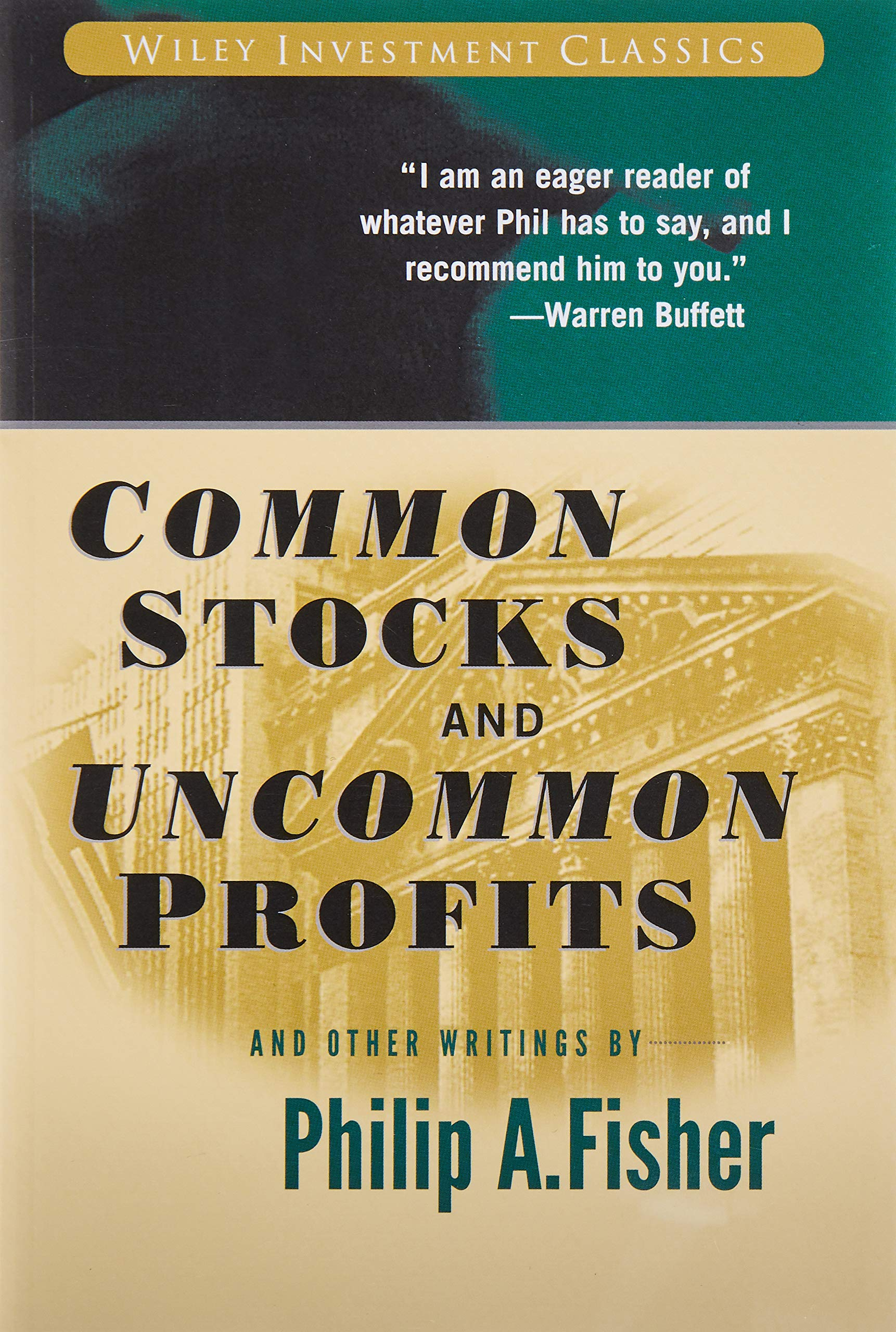 Common Stocks And Uncommon Profits Pdf Drive