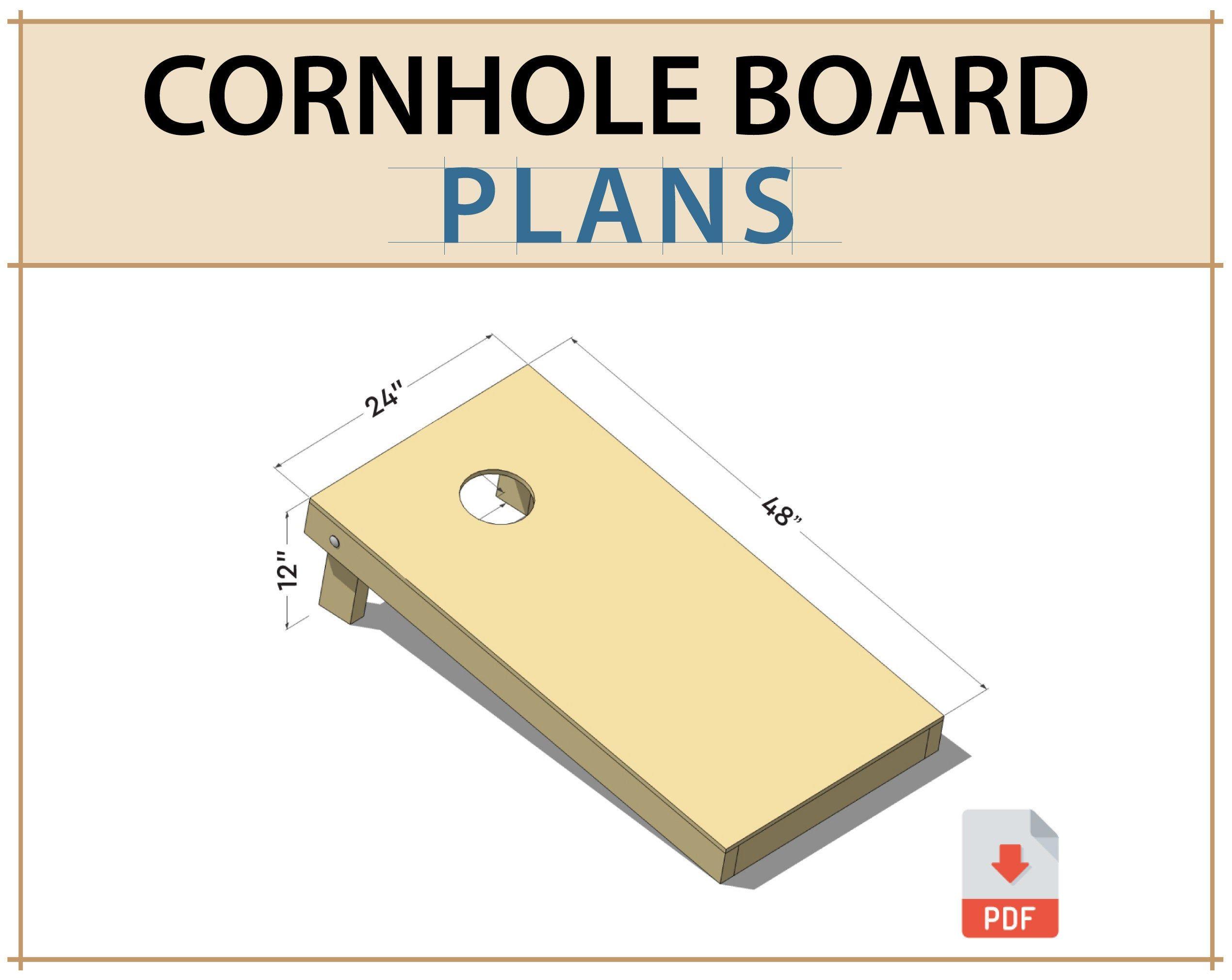 Cornhole Plans Pdf