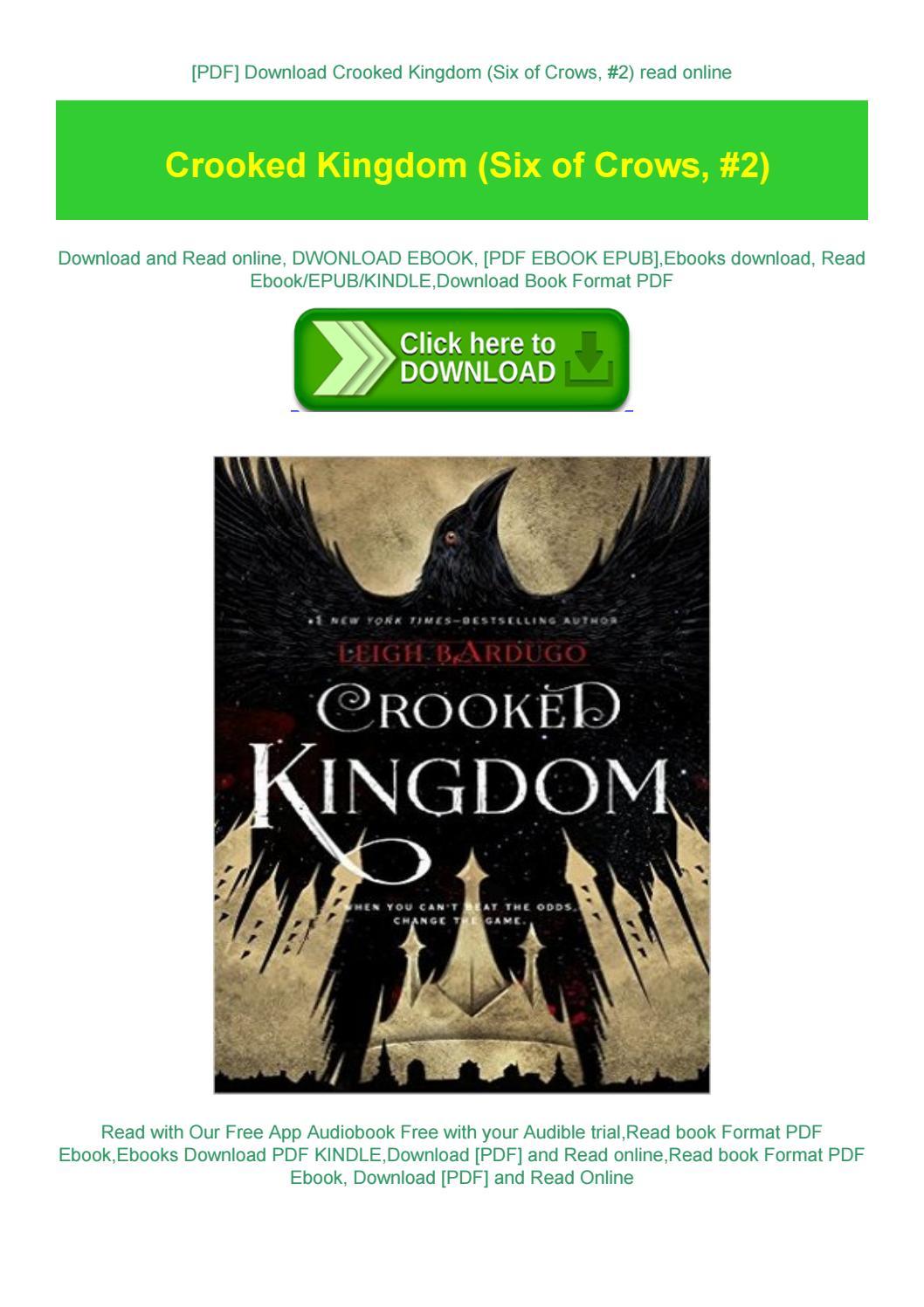 Crooked Kingdom Pdf Download