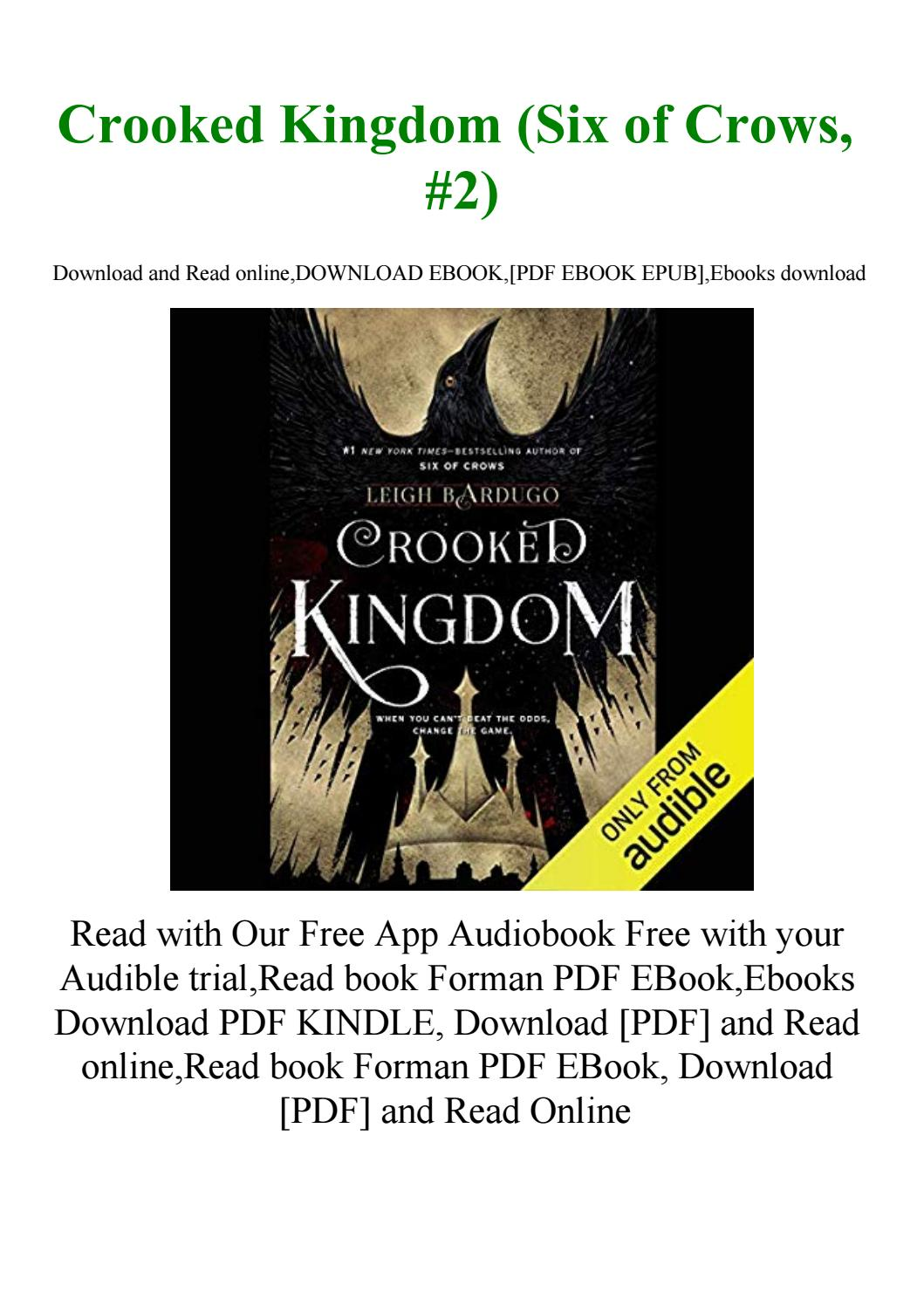 Crooked Kingdom Pdf Free Download