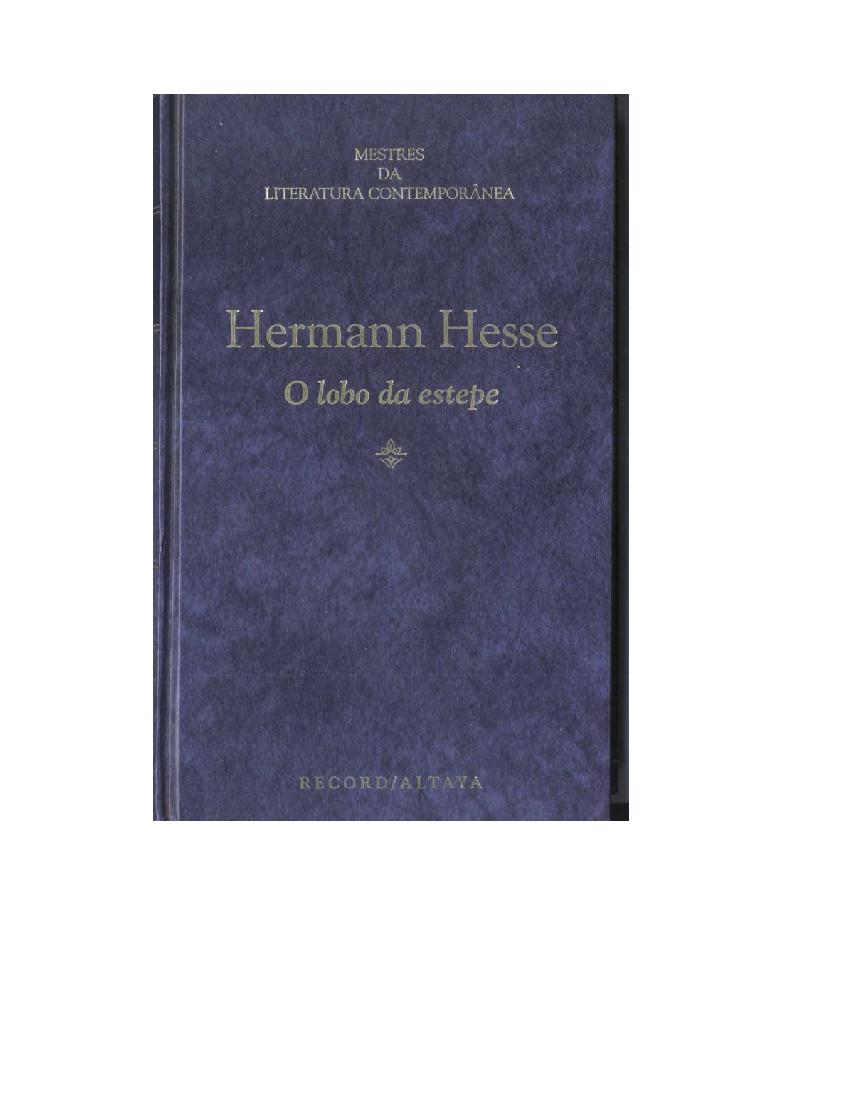 Demian Hermann Hesse Pdf Portugues
