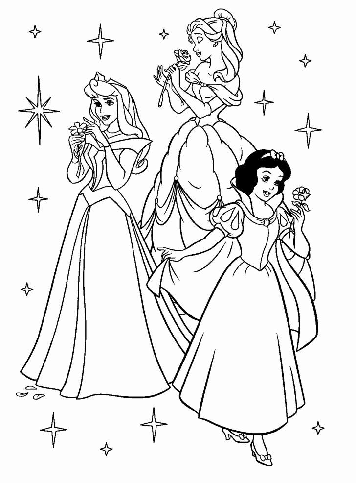 Disney Princess Coloring Book Pdf