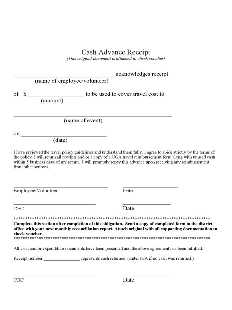 Down Payment Receipt Pdf