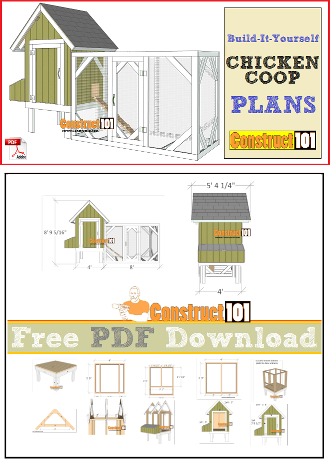 Downloadable Free Chicken Coop Plans Pdf