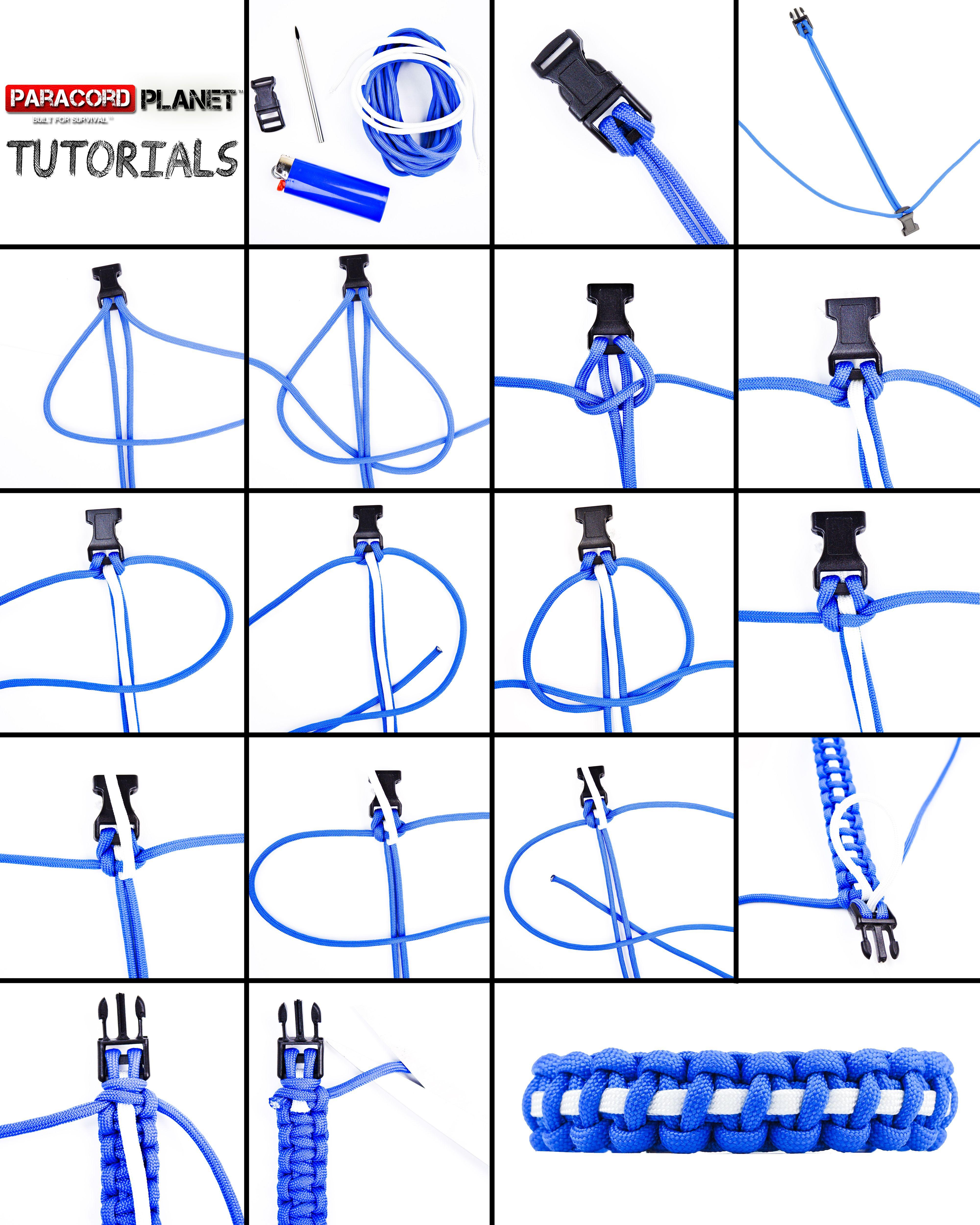 Easy Paracord Bracelet Instructions Pdf