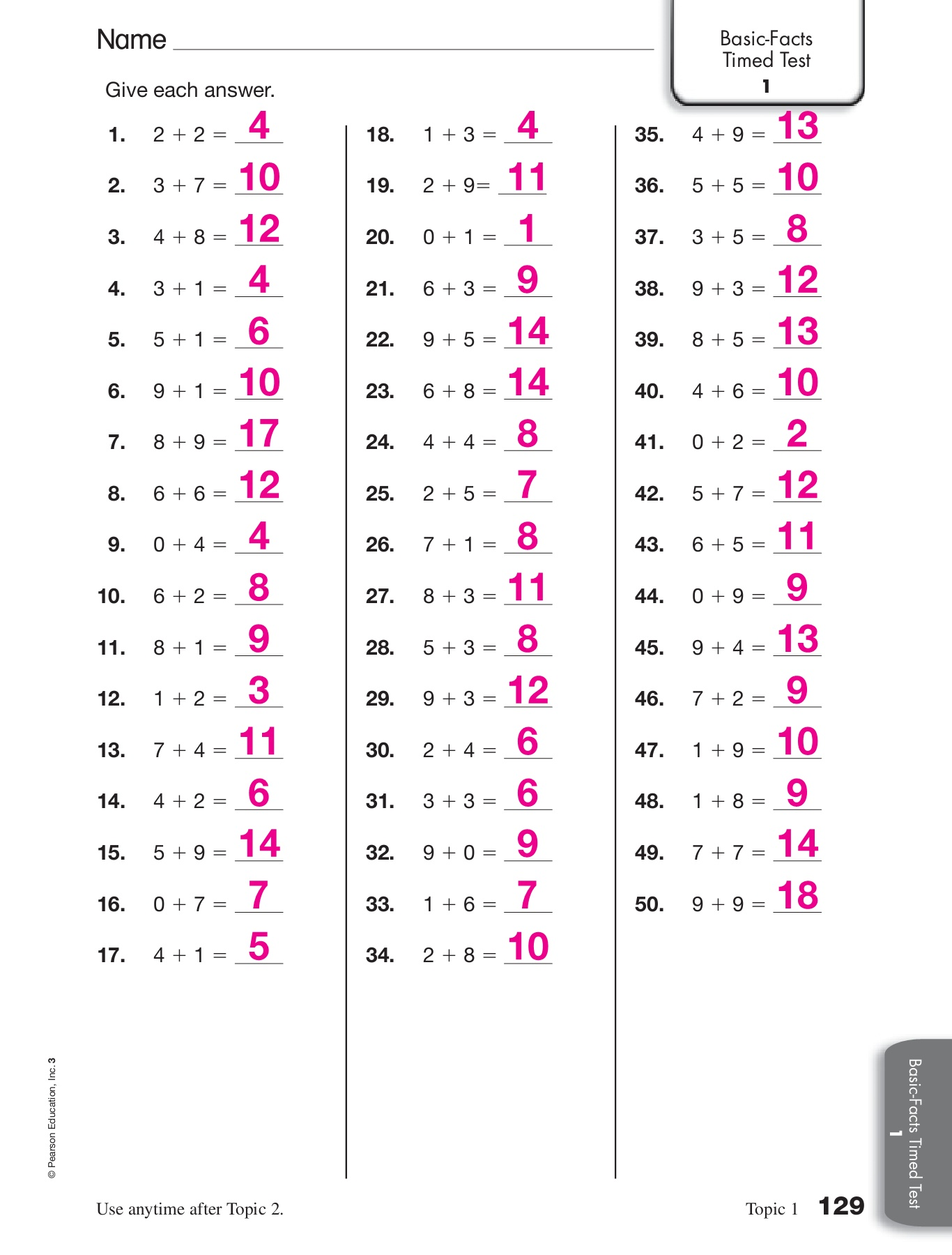 Envision Algebra 1 Answer Key Pdf Additional Practice 6 1