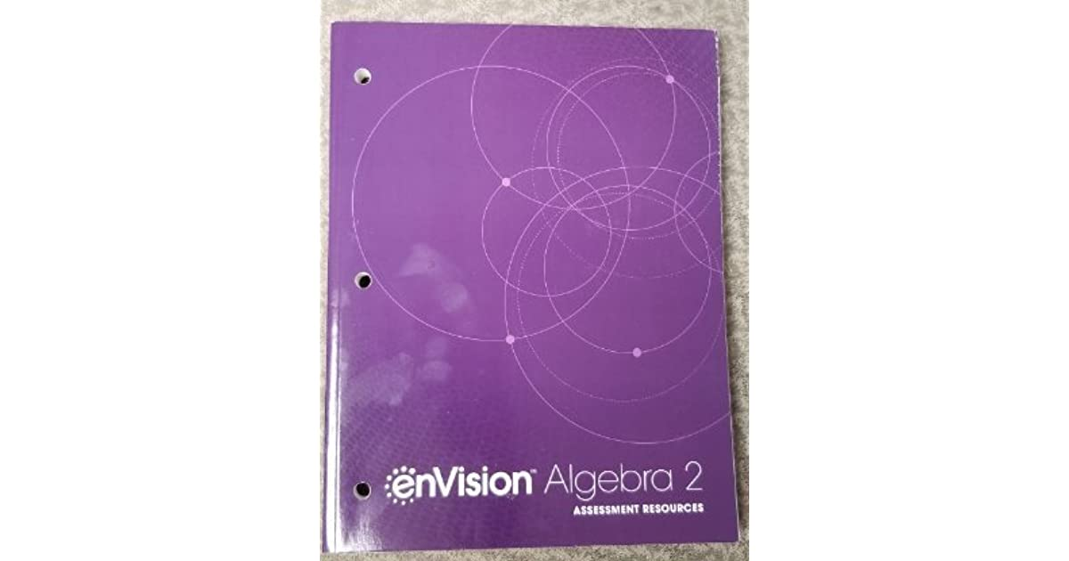 Envision Algebra 1 Answer Key Pdf Additional Practice