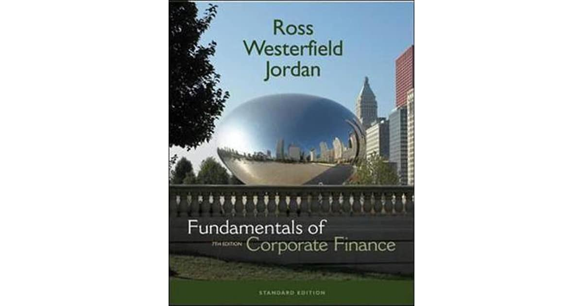 Essentials Of Corporate Finance 9th Edition Pdf