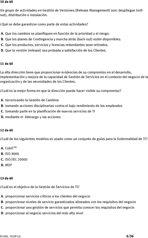 Examen Iso 45001 Pdf