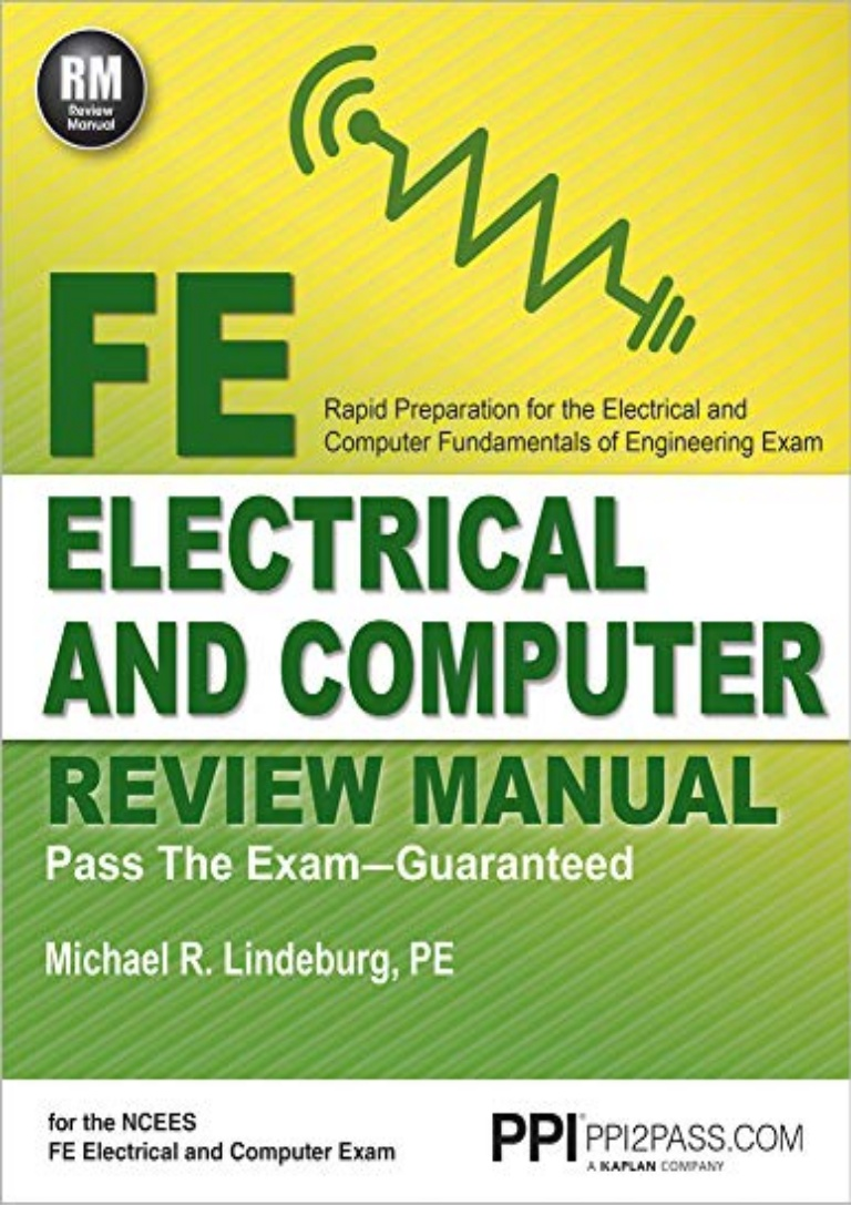 Fe Electrical And Computer Review Manual Pdf Download