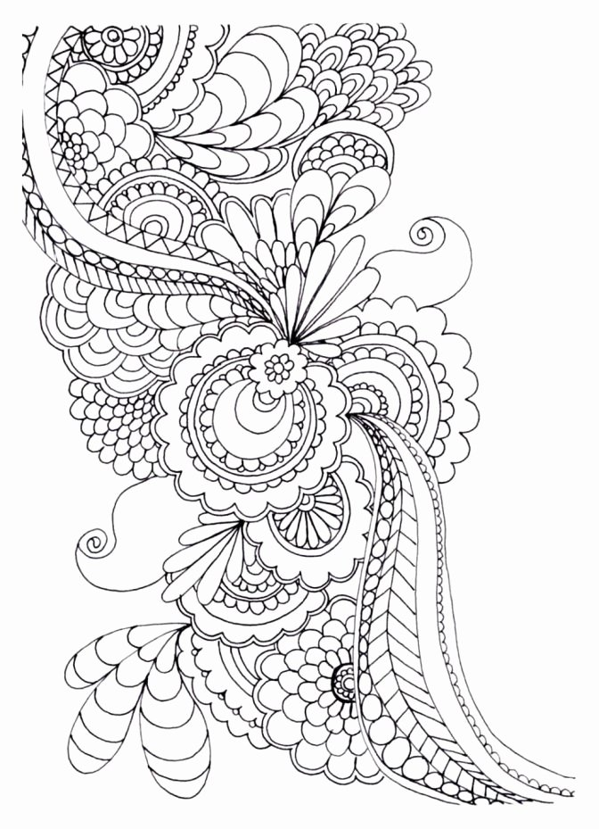 Flower Pdf Flower Printable Coloring Pages For Adults