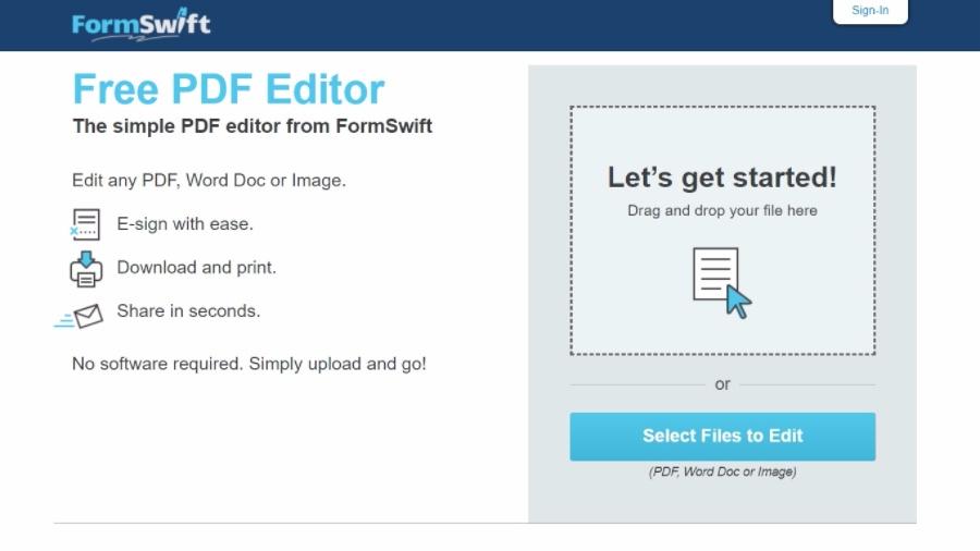 Formswift Pdf Editor Login