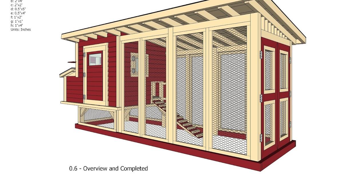 Free Chicken Coop Plans Pdf