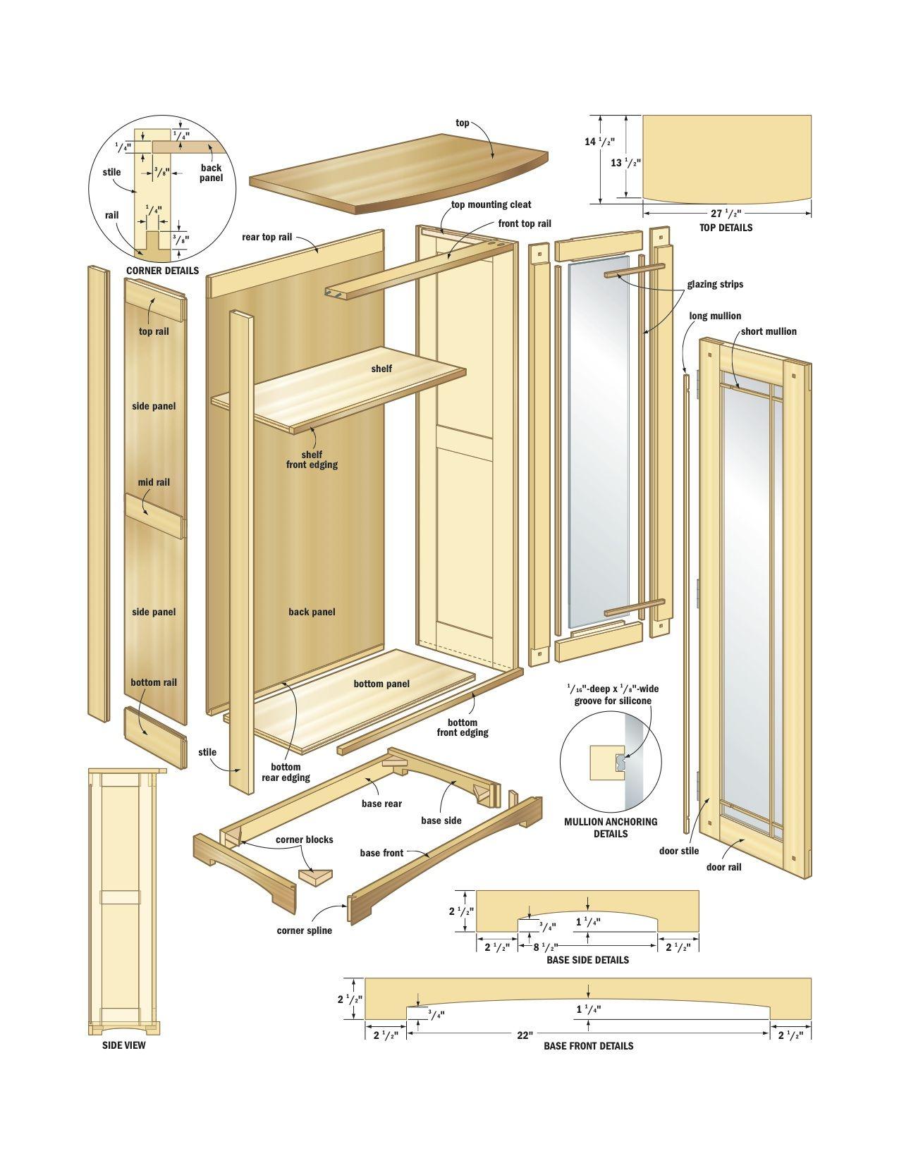 Free Kitchen Cabinet Plans Pdf