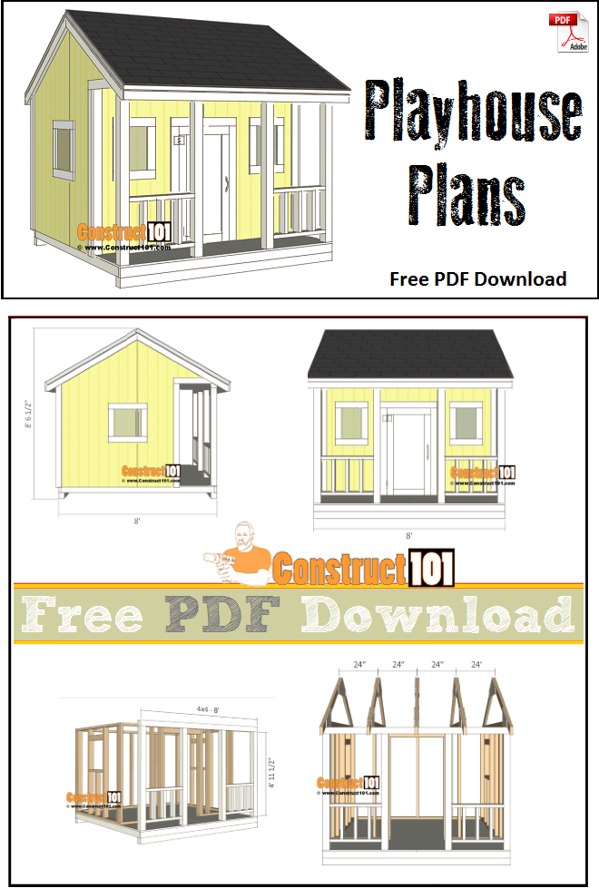 Free Playhouse Plans Pdf