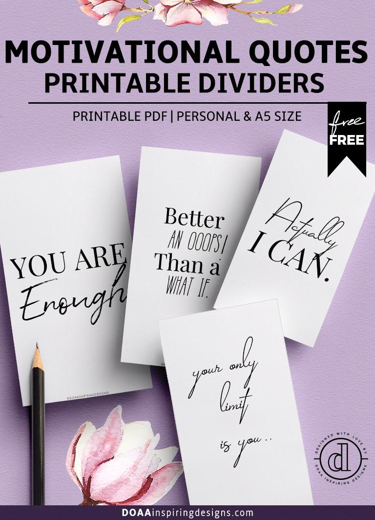 Free Printable Quotes Pdf