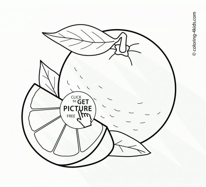 Fruit Coloring Book For Kids Pdf