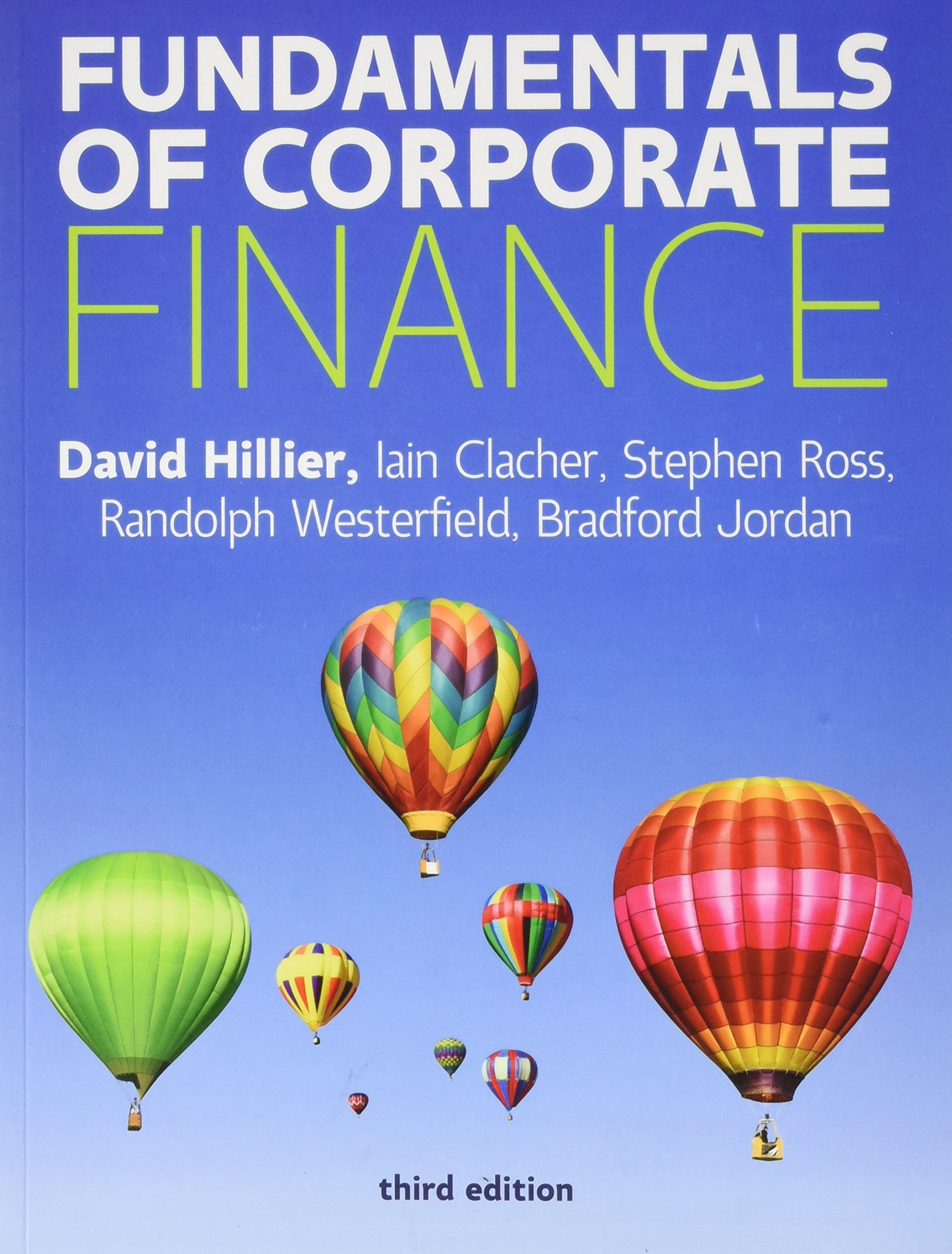 Fundamentals Of Corporate Finance Pdf