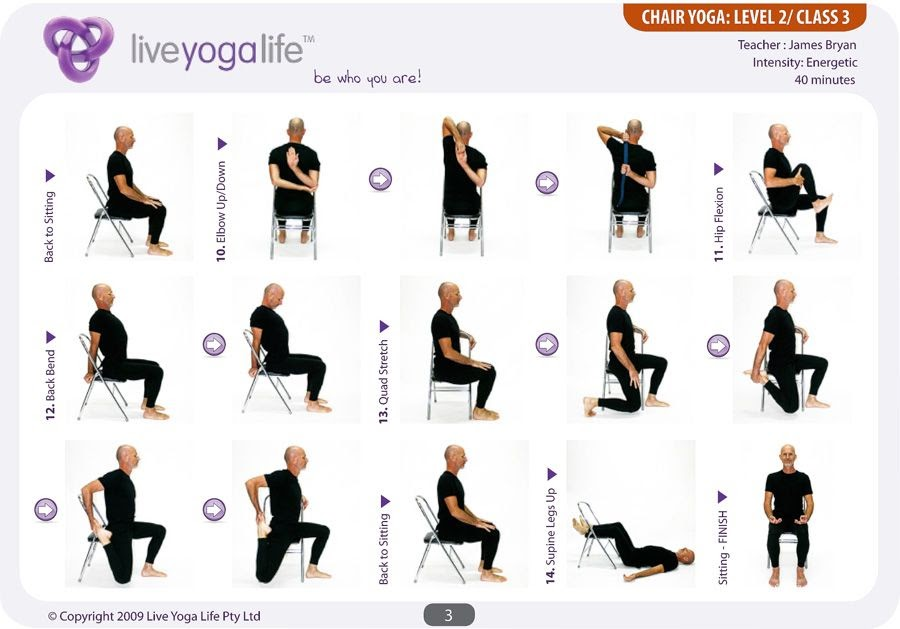 Gentle Yoga Sequence For Seniors Pdf