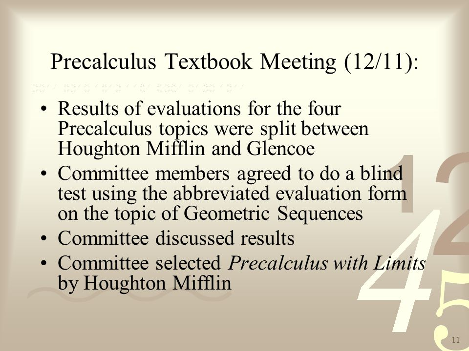 Glencoe Precalculus Textbook Pdf