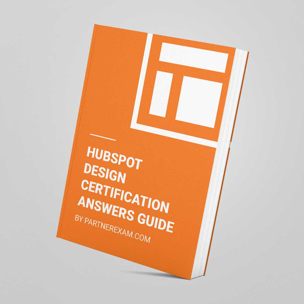 Hubspot Inbound Marketing Certification Answers 2018 Pdf