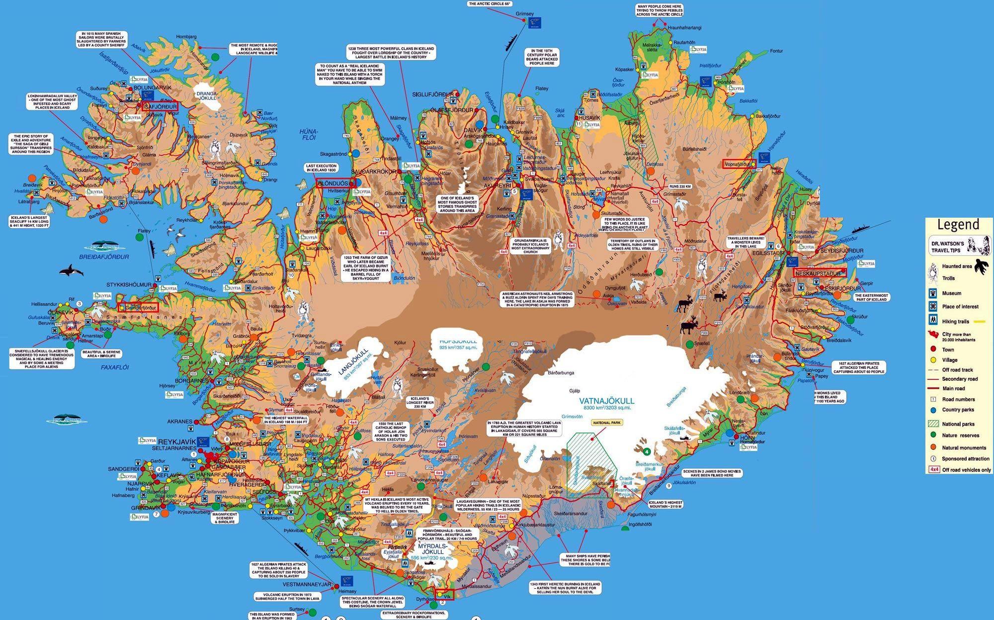 Iceland Golden Circle Map Pdf