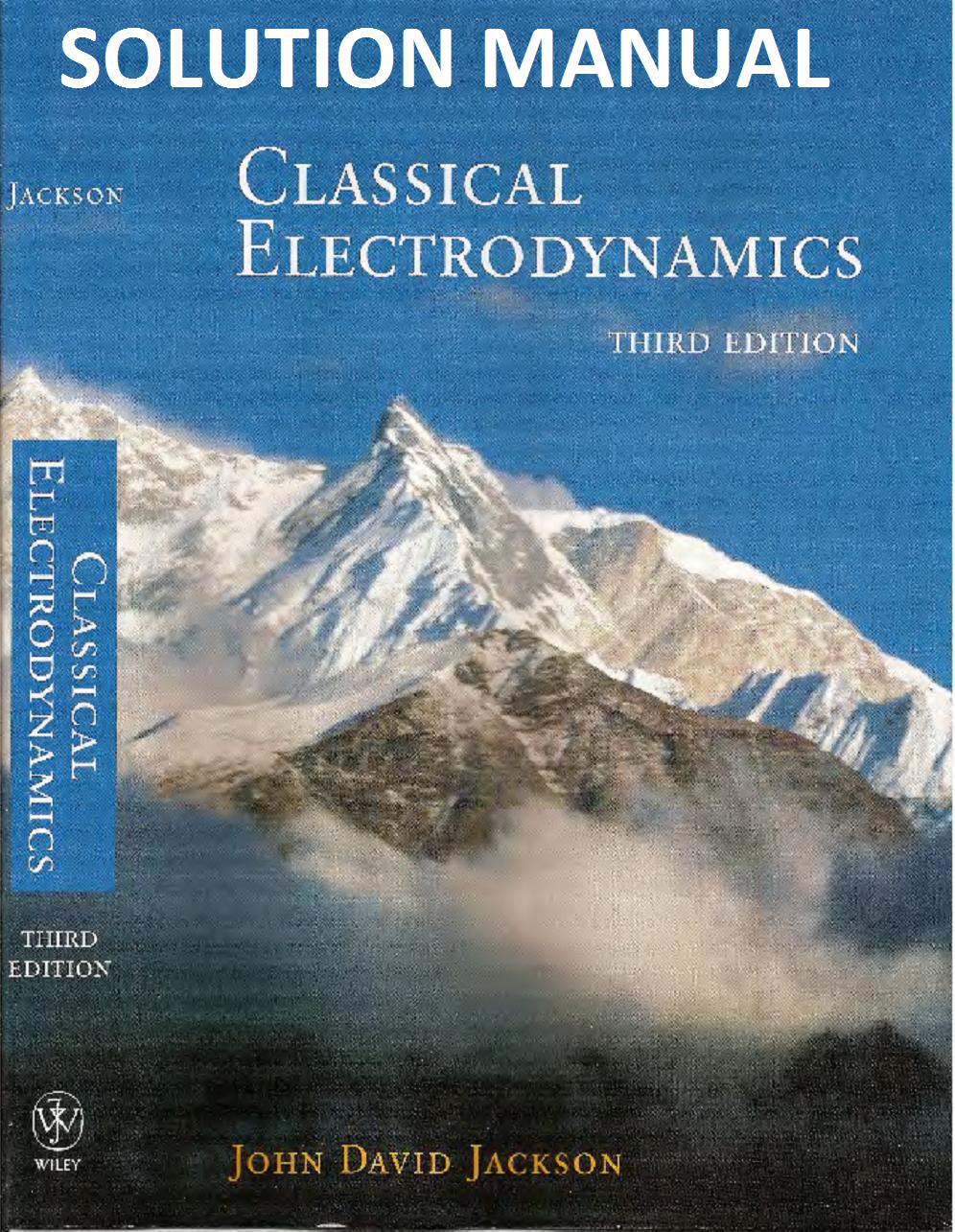 Jackson Electrodynamics Pdf 2nd