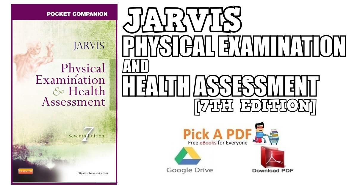 Jarvis Physical Examination And Health Assessment Pdf
