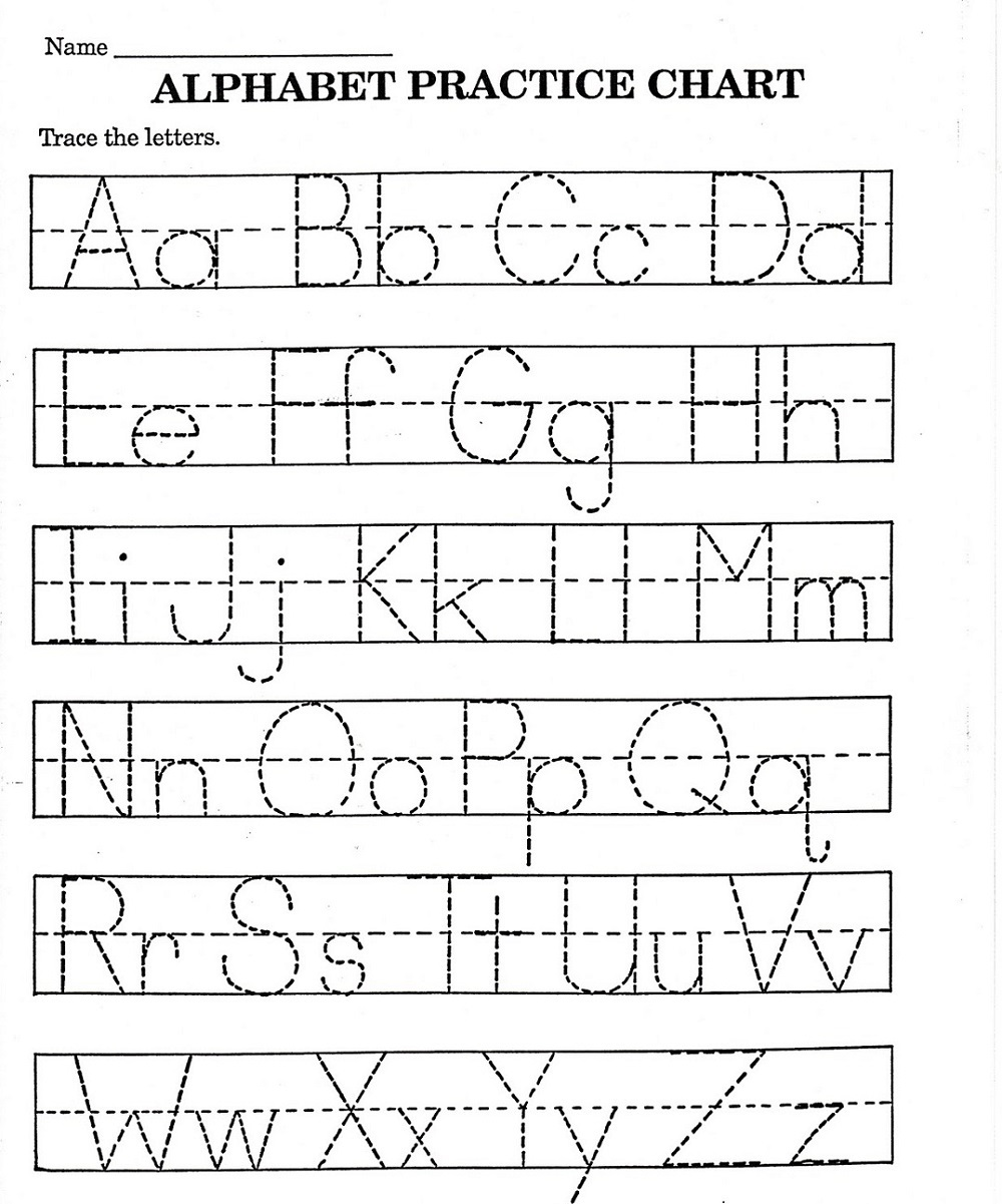 Kindergarten Abc Worksheets Pdf