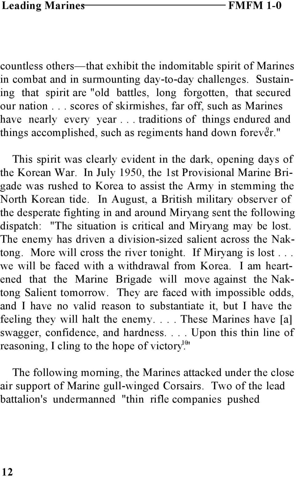 Leading Marines Pdf