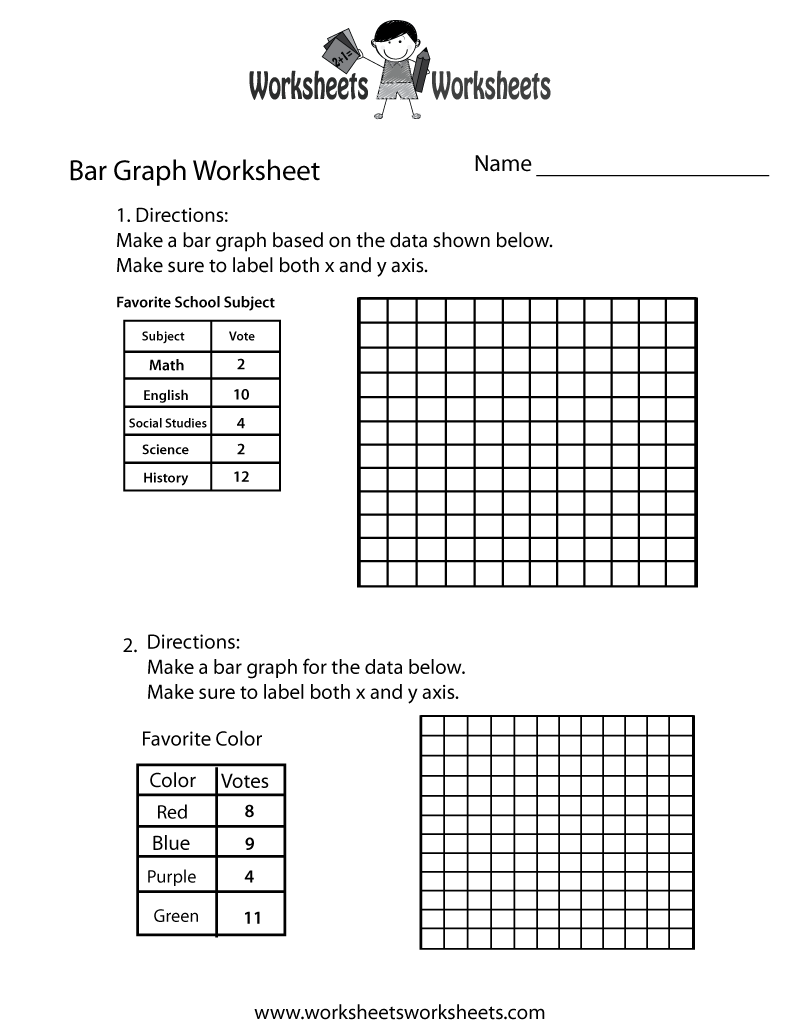 Making A Bar Graph Worksheet Pdf