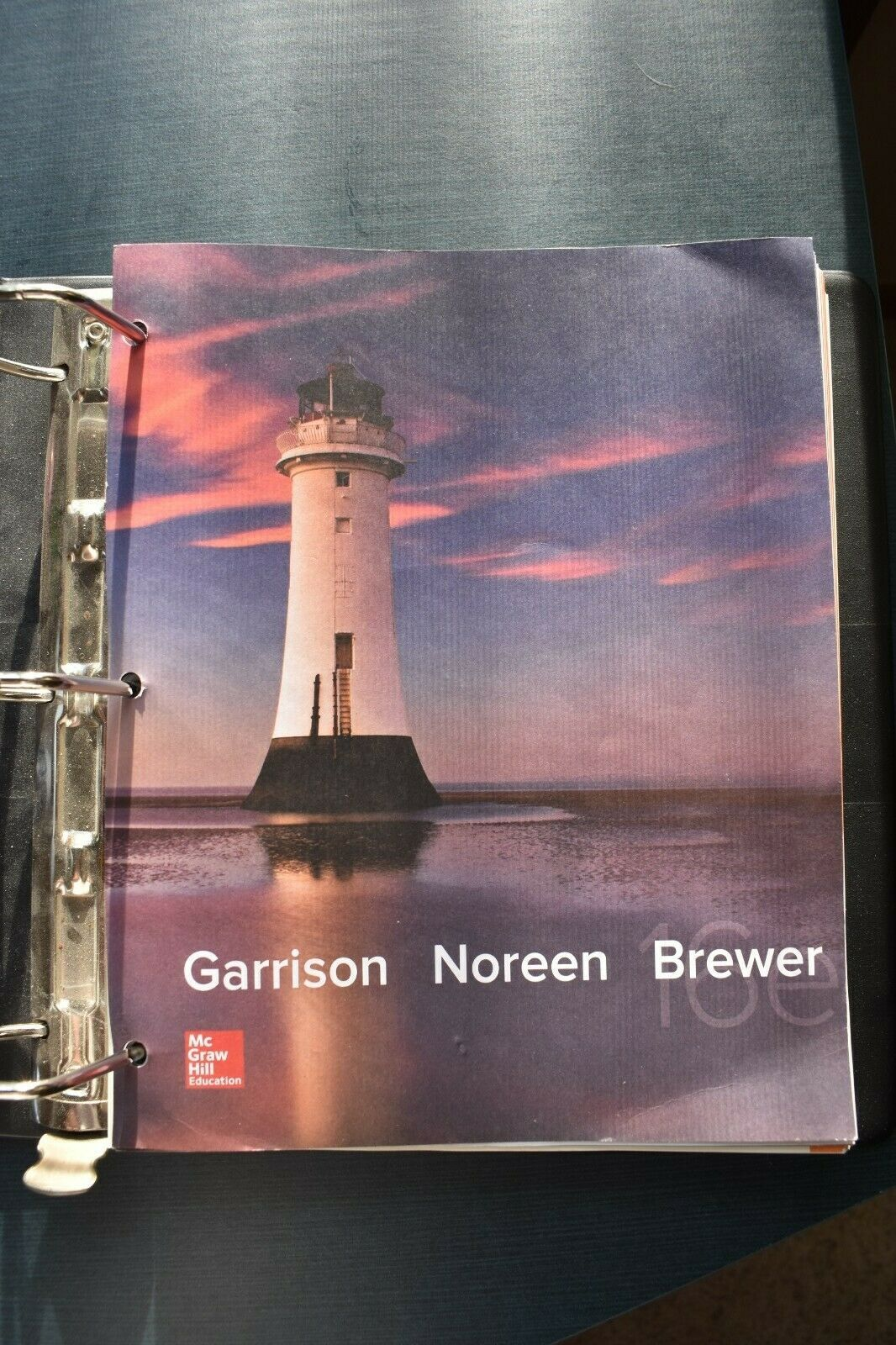 Managerial Accounting 16th Edition Garrison Pdf