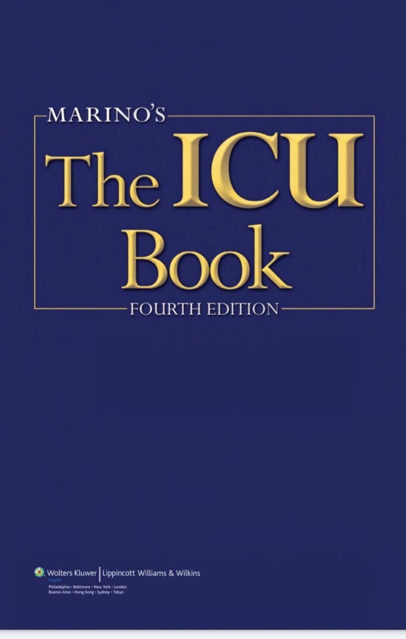 Marino Icu Book Pdf Download