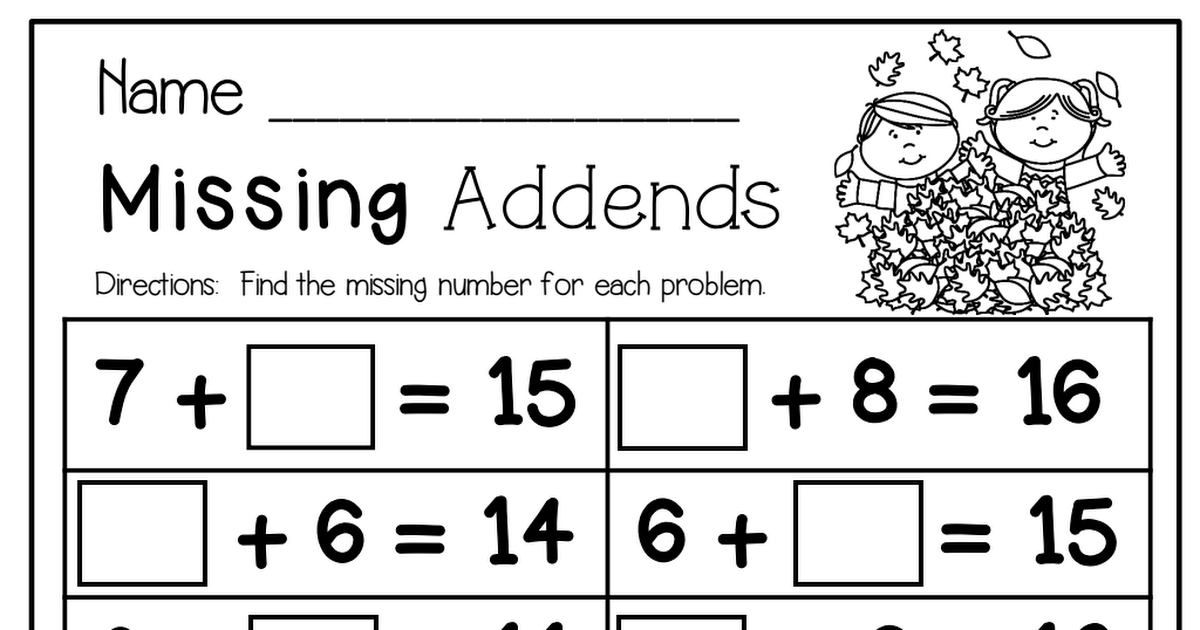 Math 1st Grade Worksheets Pdf