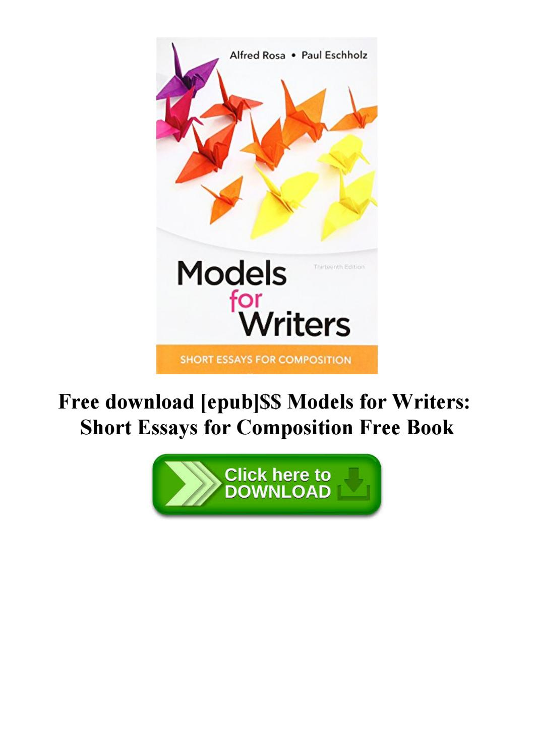 Models For Writers 13th Edition Pdf