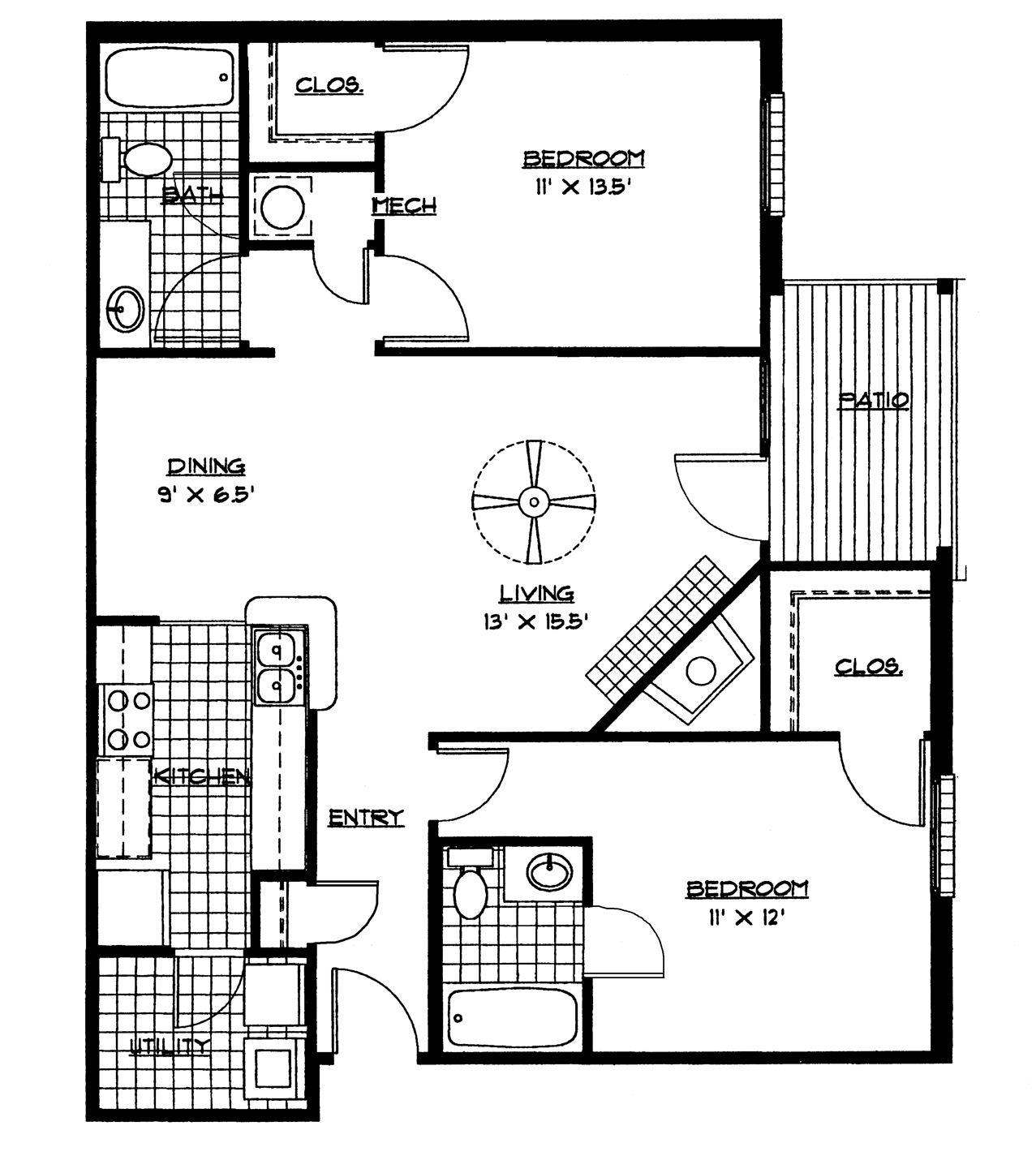 Modern House 4 Bedroom House Plans Pdf Free Download