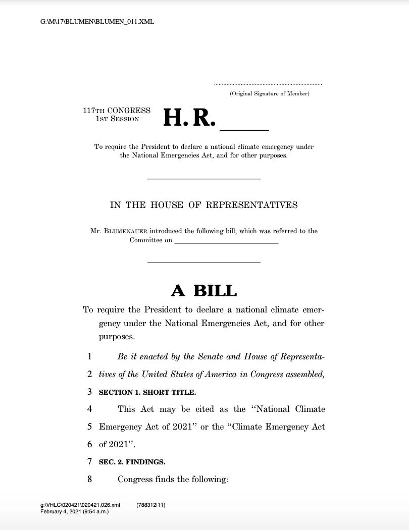 National Emergencies Act Pdf