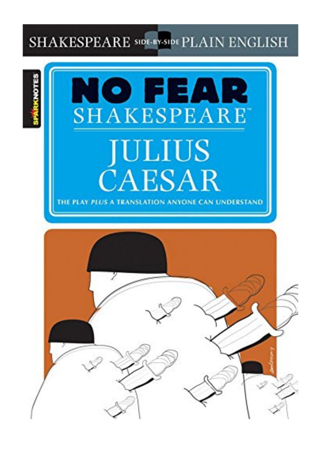No Fear Shakespeare Julius Caesar Pdf
