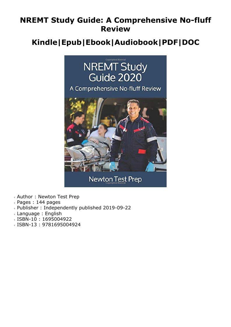 Nremt Study Guide Pdf
