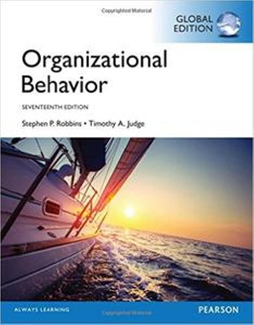 Organizational Behavior 17th Edition Pdf Download