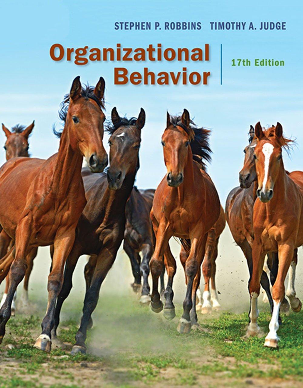 Organizational Behavior 17th Edition Pdf Free