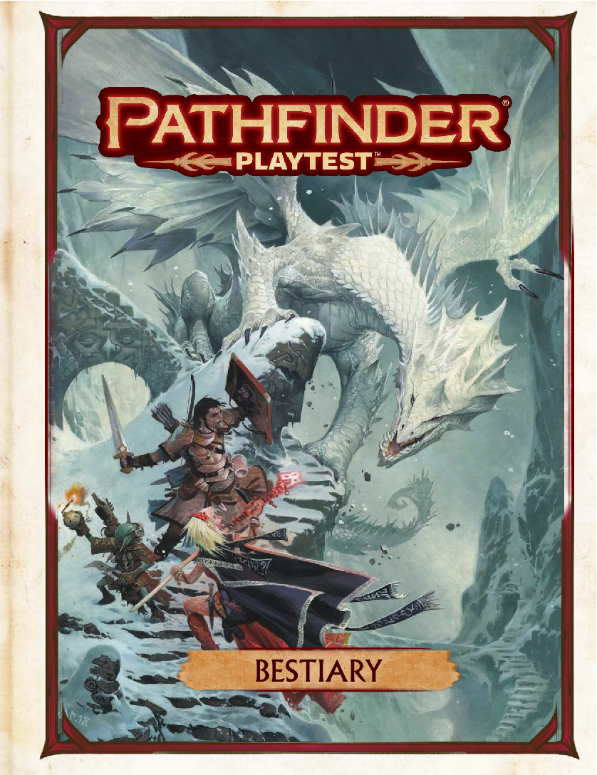 Pathfinder 2e Playtest Pdf