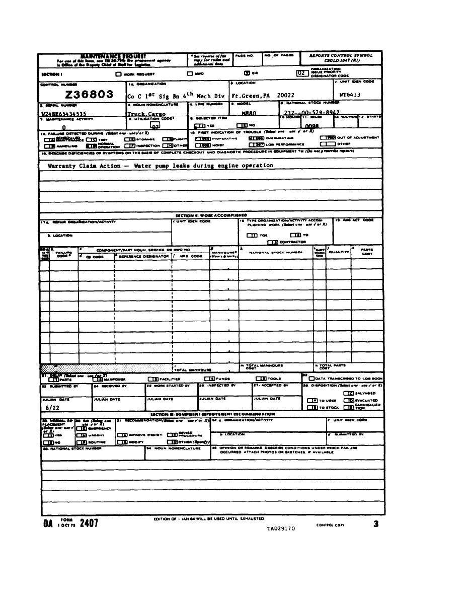 Pdf Da Form 638
